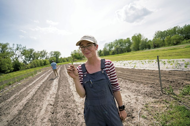 Emily Mitchell, co-owner of Half Pint Farm - FILE: DARIA BISHOP