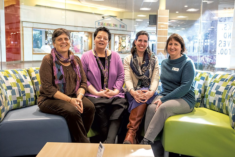 From left: Jennifer Murray, Kathryn Plageman, Verity Burnor and Jessica Joyal - LUKE AWTRY