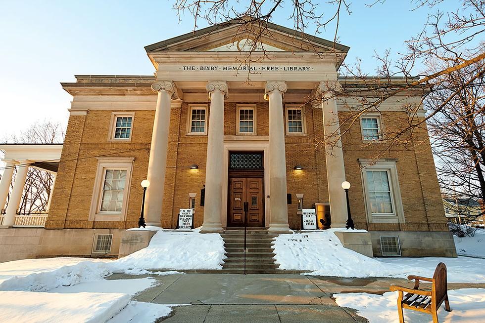 Bixby Memorial Free Library - BEAR CIERI
