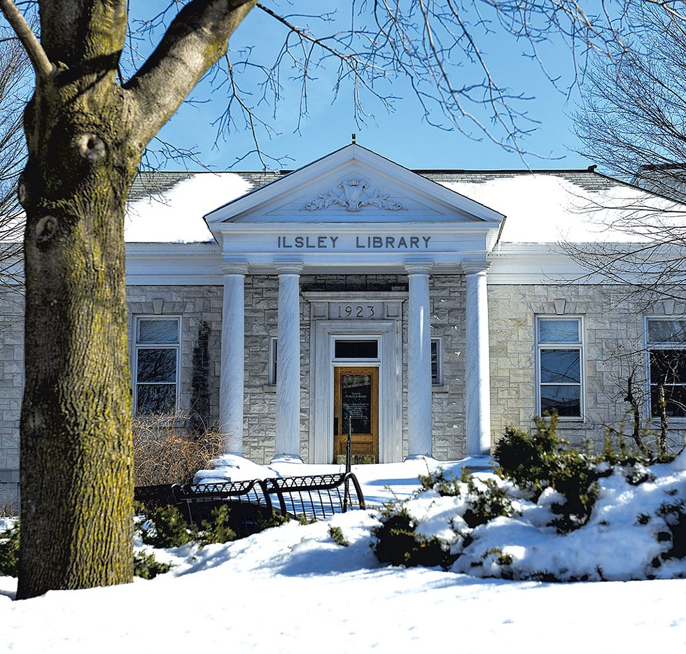Ilsley Public Library - CALEB KENNA