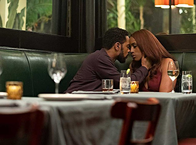 PICTURE PERFECT Stanfield and Rae make a glamorous - pair in Meghie's multigenerational romance.