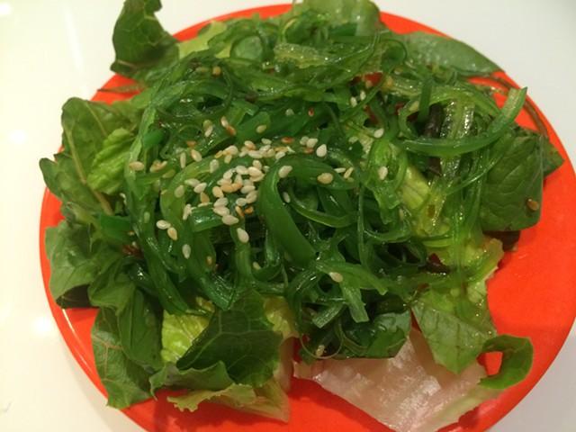 Seaweed salad, $5 - ALICE LEVITT