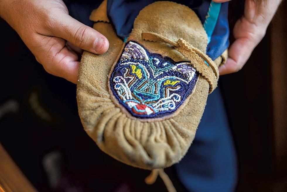 Traditional moccasin - CALEB KENNA