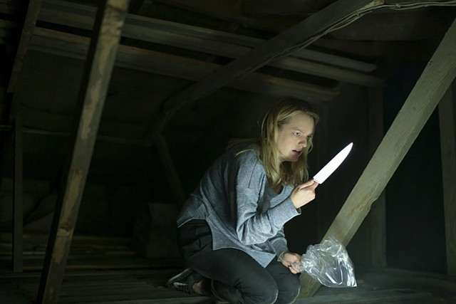 KNIFE FRIGHT No one who sees Whannell's update is likely to look at kitchen blades in quite the same way ever again