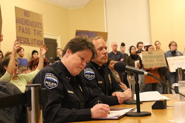 Interim Burlington Police Chief Jennifer Morrison - COURTNEY LAMDIN