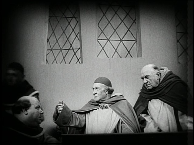 Uneven architecture in The Passion of Joan of Arc - PUBLIC DOMAIN