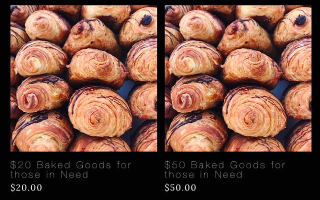 Barrio Bakery's donation page - COURTESY OF BARRIO BAKERY