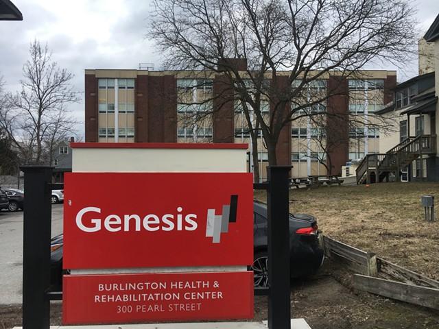 Burlington Health & Rehabilitation Center - MATTHEW ROY