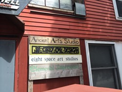 Artist studios located in the Howard Space building, a former brush factory in the Enterprise Zone - ALICIA FREESE