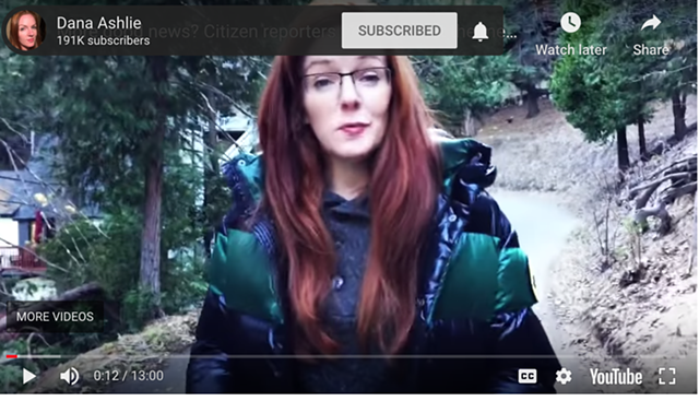 This woman has ideas about things. - SCREENSHOT OF THE VIDEO
