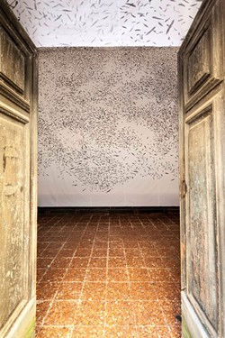 """Installation view of """"Don't They Ever Stop Migrating?"""" by Jinny Yu - COURTESY OF JINNY YU"""