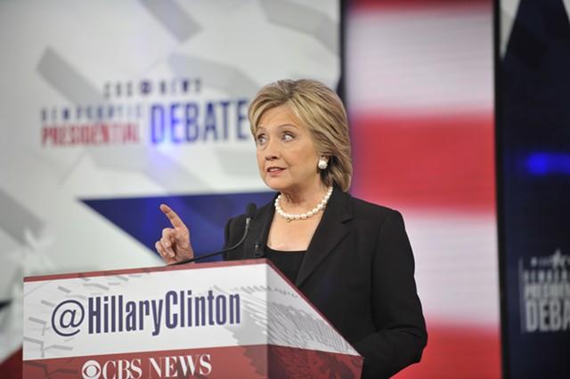 Hillary Clinton - CHRIS USHER/CBS © 2015 CBS TELEVISION NETWORK