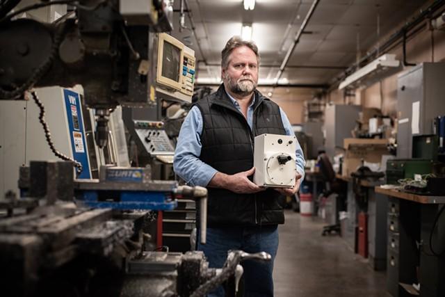 UVM engineer Carl Silver - COURTESY OF IAN THOMAS JANSEN-LONNQUIST