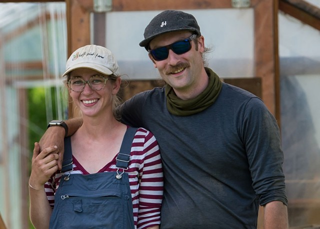 Emily and Sean Mitchell of Half Pint Farm - FILE: DARIA BISHOP