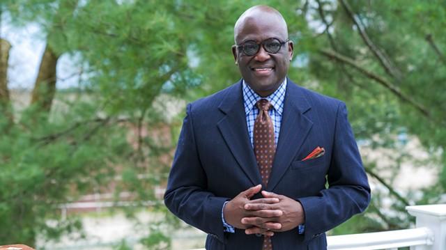Dr. Benjamin Akande - PHOTO COURTESY OF CHAMPLAIN COLLEGE