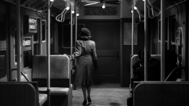 The subway scene in The Seventh Victim - RKO RADIO PICTURES
