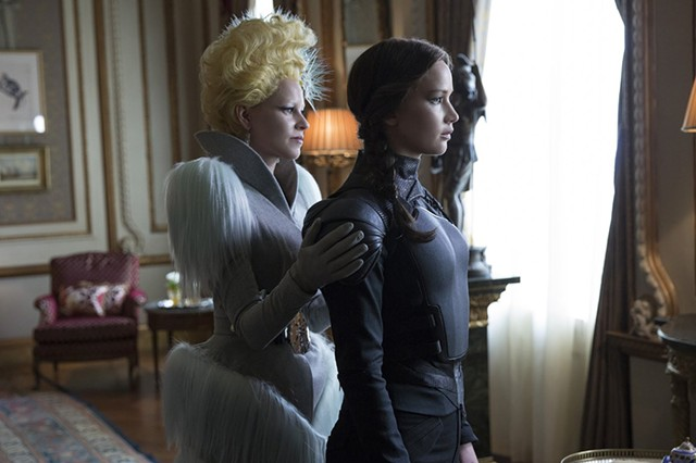 TOILS OF WARThe Hunger Games series ends with more whimpers than bangs, but that's mostly deliberate