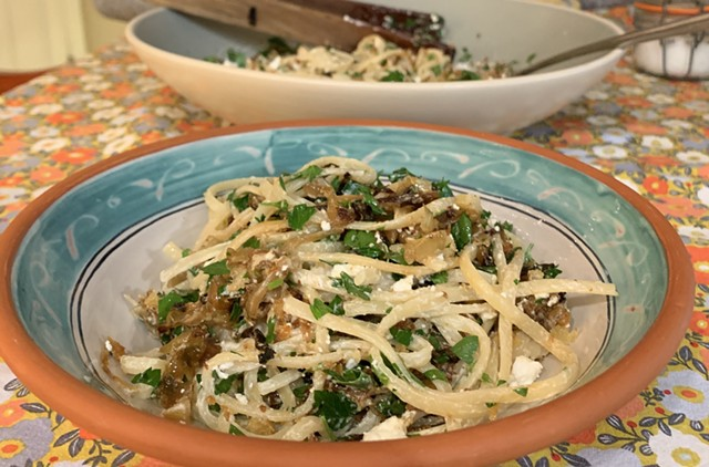 Caramelized onions, the MVP in this simple dish - MELISSA PASANEN