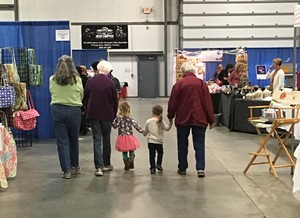 Shoppers at a previous Essex Craft Show - COURTESY OF MEGAN ROSE