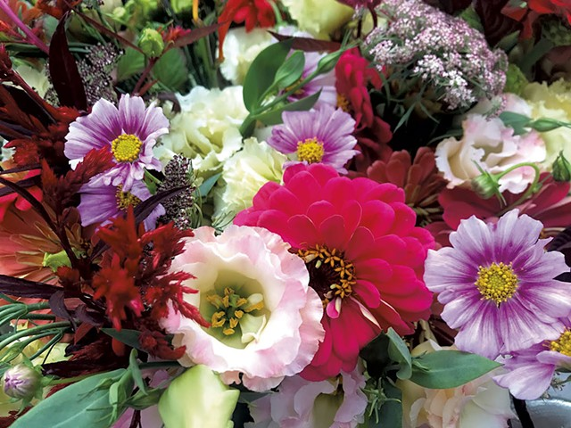 Morey Hill Farm flowers - COURTESY