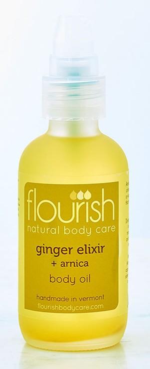 Flourish Body Oil - COURTESY