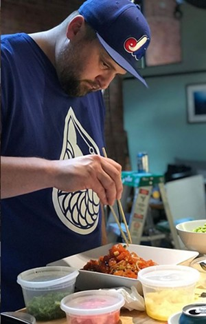 A chef from the Scale - COURTESY OF FRONTLINE FOODS VERMONT