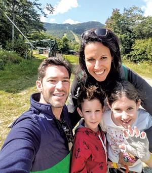 The Breiner family - COURTESY