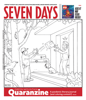 The coloring contest cover published on May 6, 2020 - HARRY BLISS