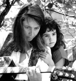 Rachel Bissex and her daughter, Emma Sky - FILE PHOTO