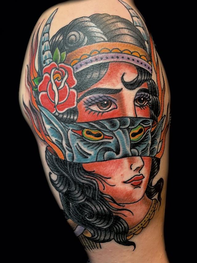 Seven Symbols Tattoo - COURTESY OF DEVIN WOOD