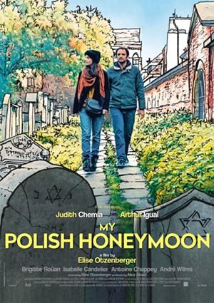 Poster for 'My Polish Honeymoon' - COURTESY OF MENEMSHA FILMS