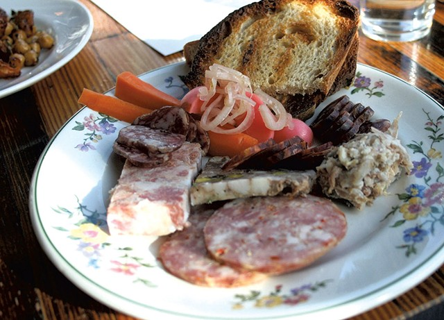 Charcuterie at Restaurant Lawrence - SUZANNE PODHAIZER