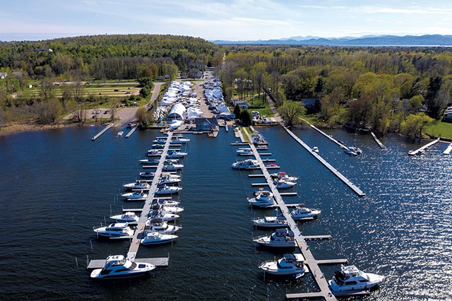 Champlain Marina in Colchester - JAMES BUCK