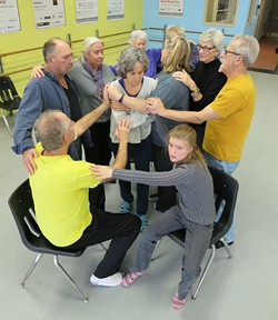 Sara McMahon's Movement for Parkinson's Class - MATTHEW THORSEN