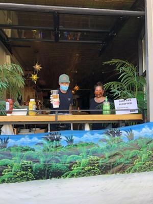 Window service at the Monkey House - JORDAN BARRY