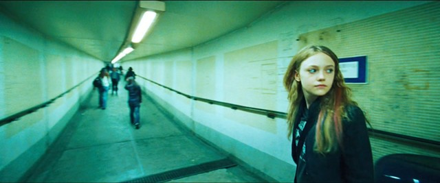 Dakota Fanning in a great wide-angle shot in Push. - SUMMIT ENTERTAINMENT