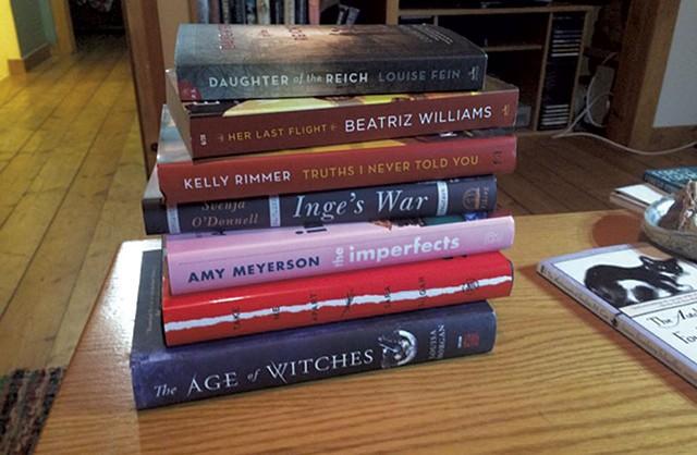 Books from Galaxy Bookshop in Hardwick - COURTESY PHOTO