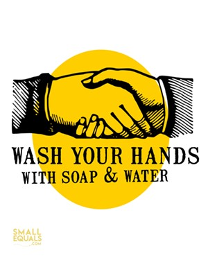 Print-at-Home Handwashing Sign