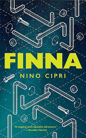 FINNA by Nino Cipri, Tor, 144 pages. $14.99 paperback; $3.99 ebook.