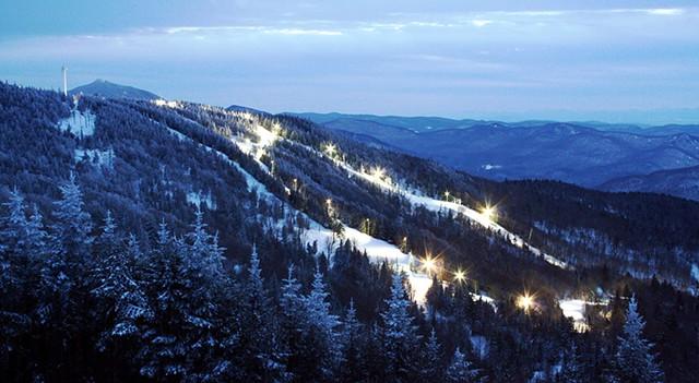 Night Skiing at Bolton Valley - COURTESY OF JOSH ARNESON/SKI VERMONT