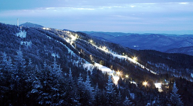 Night Skiing at Bolton Valley - COURTESY OF JOSH ARNESON/SKI VERMONT