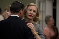 Blanchett does that Bette Davis smoldering thing as a midcentury woman trapped in a marriage of convenience. - THE WEINSTEIN COMPANY