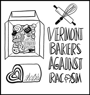 """The Vermont Bakers Against Racism collaborative """"Bakers' Box"""" - ILLUSTRATION BY MOLLY HADWIN"""