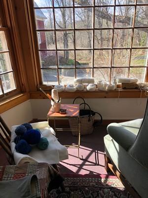Kate Donnelly's studio Courtesy photo - COURTESY PHOTO