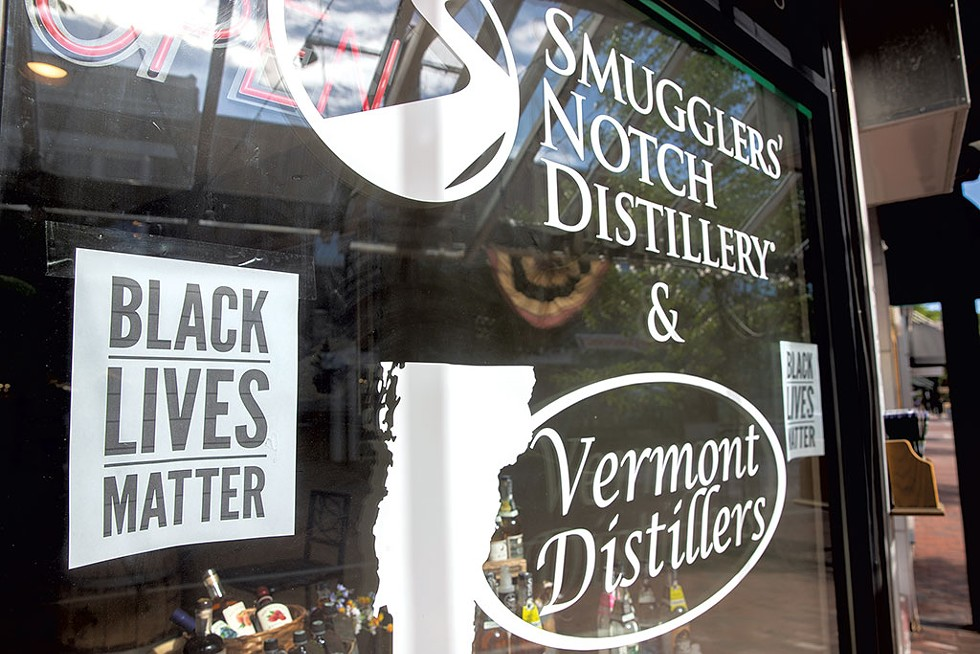 A storefront on Church Street - JAMES BUCK