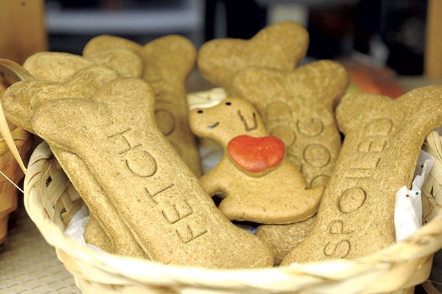 American-made treats at the Quirky Pet in Montpelier - JEB WALLACE-BRODEUR