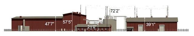 Proposed converter station
