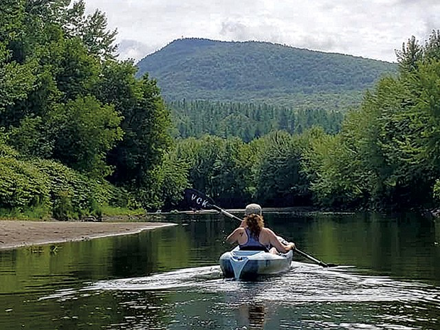 Outing on the Lamoille River with Vermont Canoe & Kayak - COURTESY OF VERMONT CANOE & KAYAK