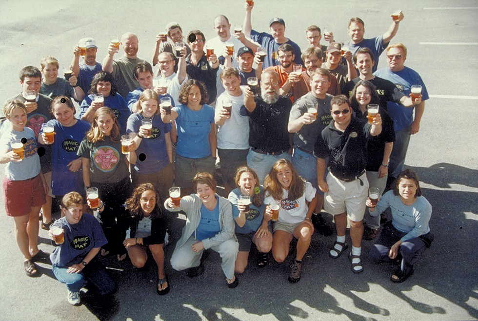 Magic Hat staff circa 2000 - COURTESY