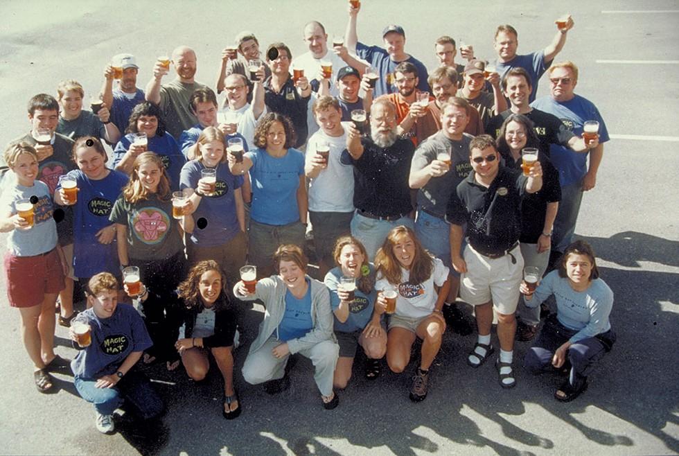 Magic Hat staff circa 2000 - COURTESY